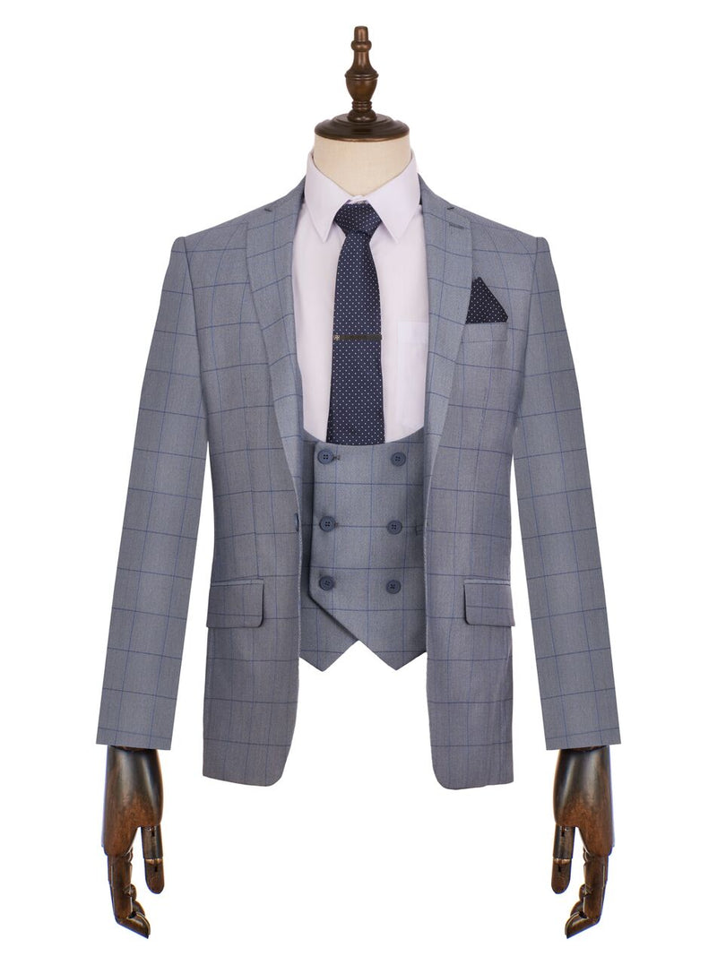 Connor Check Suit - Mens Tweed Suits- floretti marc darcy wedding