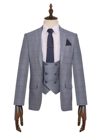 Connor Check Suit - Mens Tweed Suits