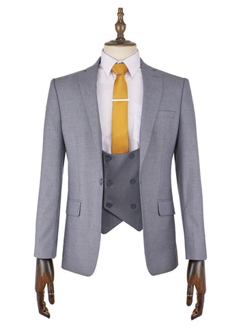 Gerard Blue Suit - Mens Tweed Suits