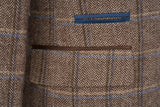 Tony Brown Check Tweed Suit - Mens Tweed Suits