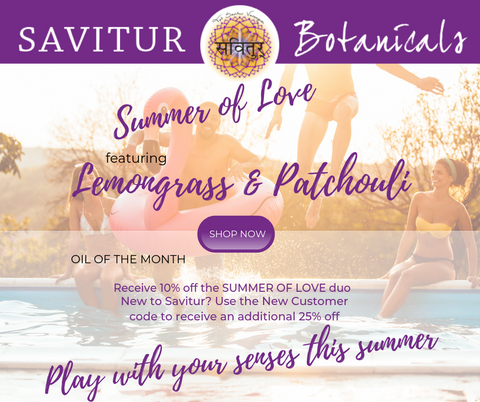 **10% OFF** Oils Of the Month for August--Bright Lemongrass & Earthy Patchouli