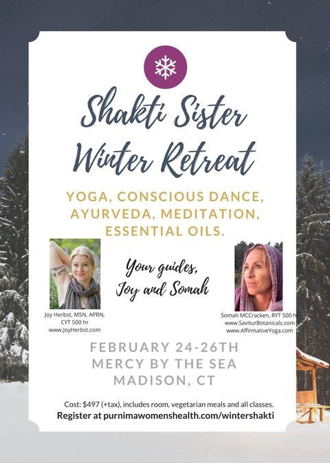 SHAKTI SISTER WINTER Weekend Retreat!