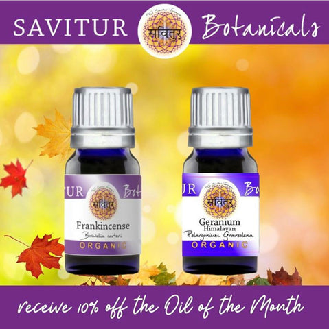 Oil of the Month.. save 10%!