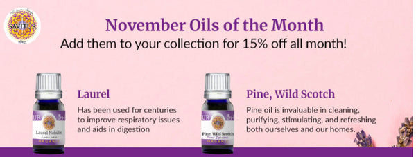 November oils of the month