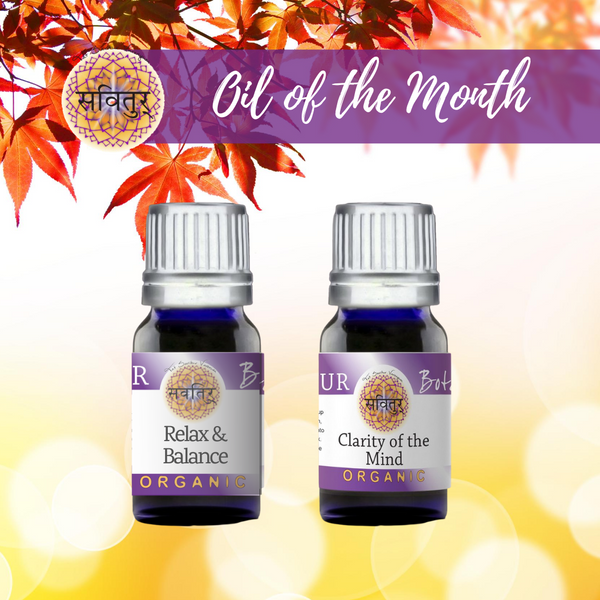September Oils of the Month