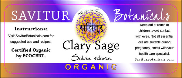 Clary Sage (ECOCERT)