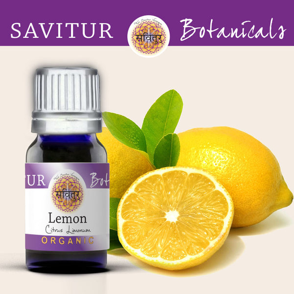 Lemmon Essential Oil Savitur Botanical product - used to cleanse toxins from the body and has powerful antioxidant properties.