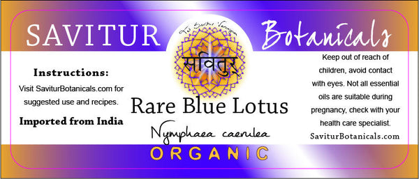 BULK Blue Lotus, Absolute (India)