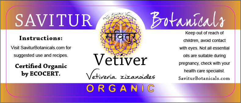 BULK Vetiver (Bio-Certified)