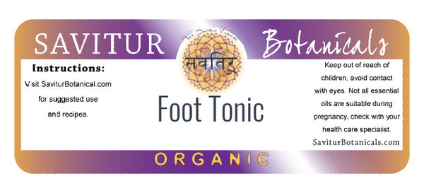 Foot Tonic (ECOCERT)