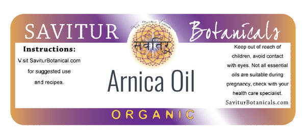 Arnica Oil (Infusion of  Arnica flowers in Olea europaea L)