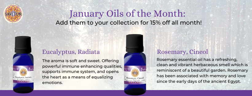 January Oils of the month