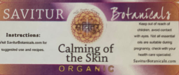 Calming of the Skin