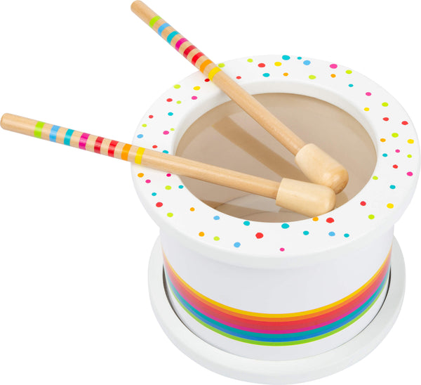 small foot childrens wooden drum