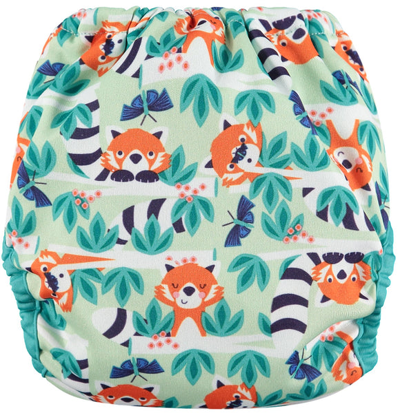 cose pop in red panda birth to potty nappy