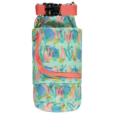 close Pop-in turtle stuff sack wet bag