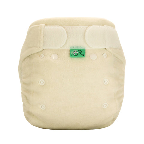 Tots Bots Bamboozle Bamboo Stretch Nappy - Natural - Smallkind