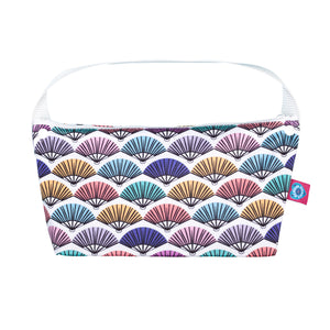 bloom and nor bathroom bag in flirt print