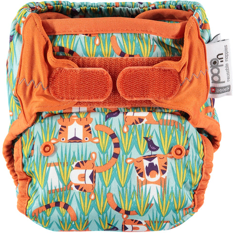 Close Pop In Oswald + Bo Print Nappy - Smallkind