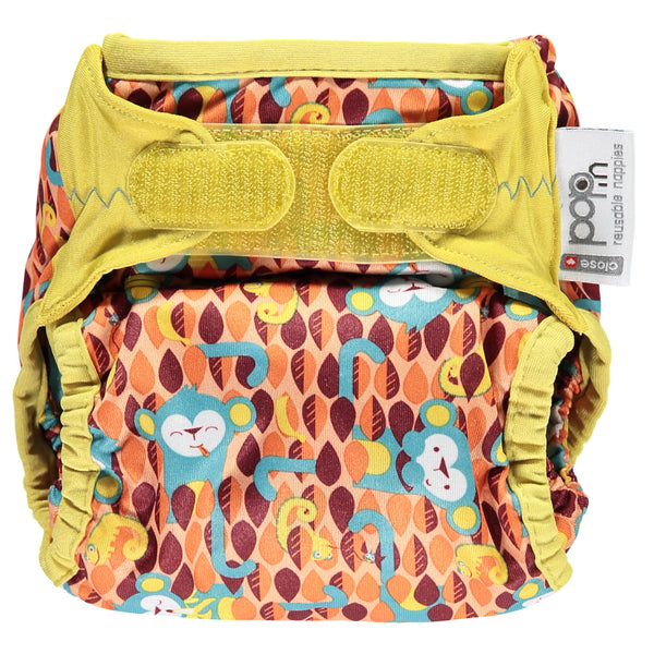Close Pop In Ticky + Bert Print Nappy - Smallkind