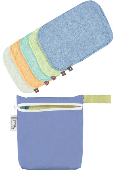 Close Reusable Bamboo Wipes - Pastel - Smallkind