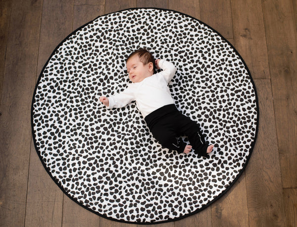 Etta loves reversible sensory playmat dalmation print