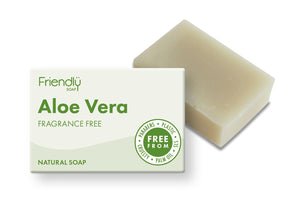 Aloe vera vegan friendly soap bar