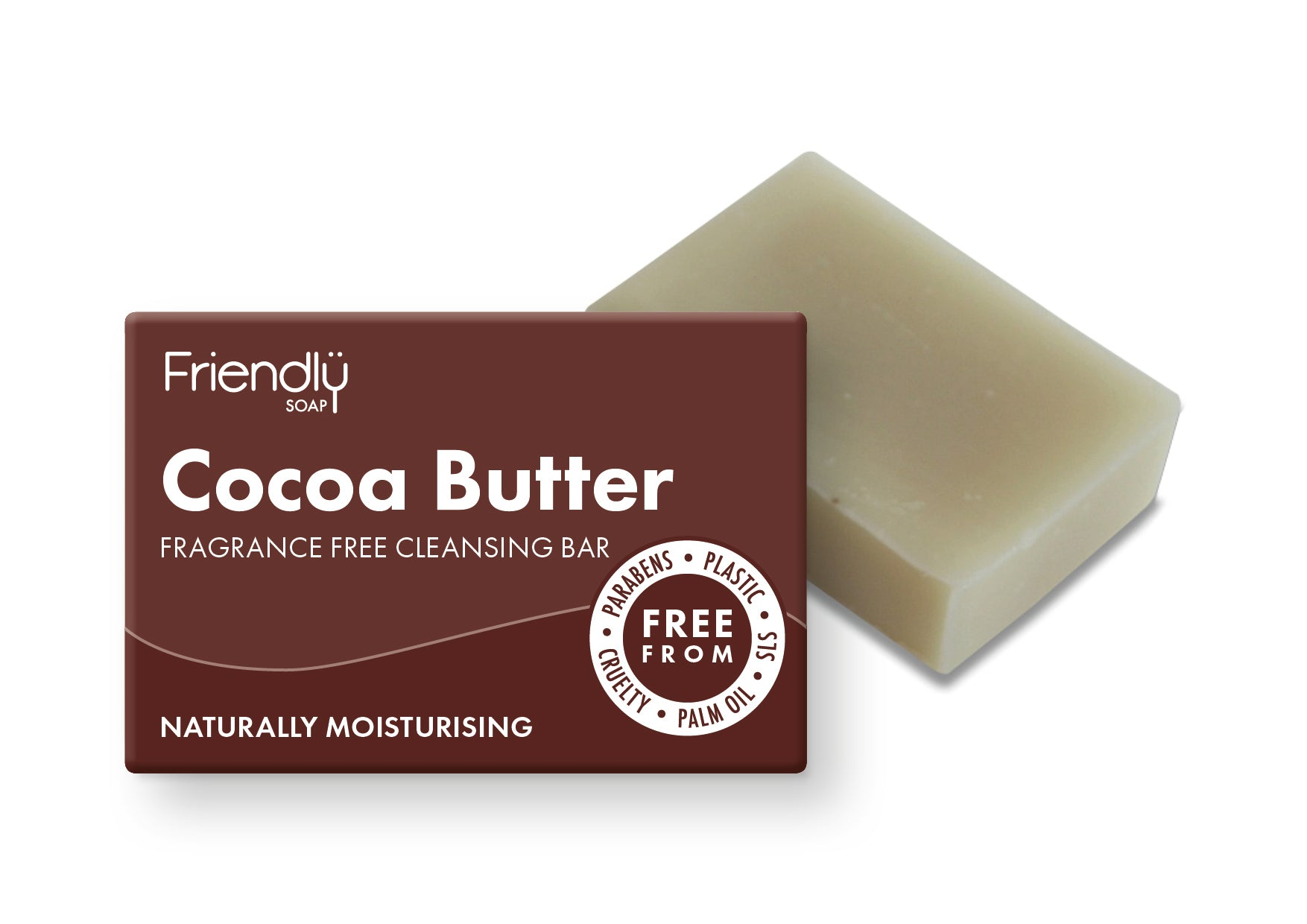Cocoa Butter Facial Cleansing Bar - Smallkind
