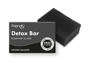 friendly soap charcoal detox soap bar in zero waste plastic free packaging