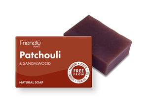Patchouli + Sandalwood Soap Bar - Smallkind