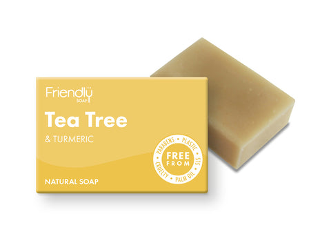 Tea Tree + Turmeric Soap Bar - Smallkind