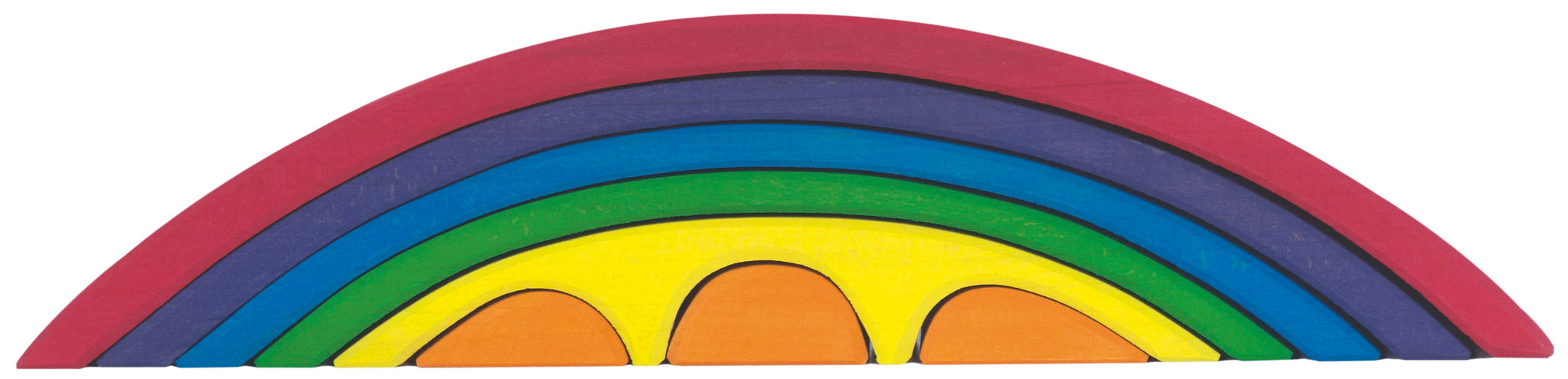 Gluckskafer Bridge Set - Rainbow - Smallkind