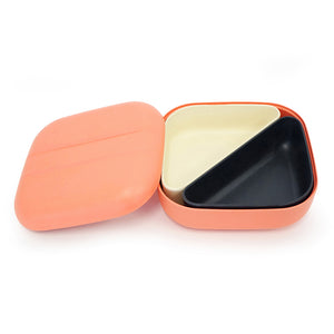 ekobo bamboo lunch box coral