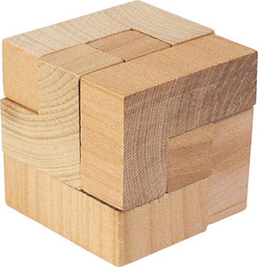 Magic Cube Wooden Puzzle