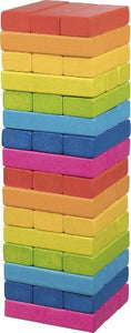goki colourful tumbling tower jenga game