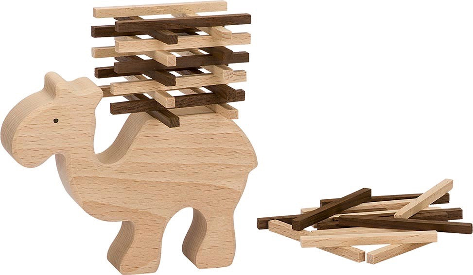 Goki Nature Stacking Camel Game - Smallkind