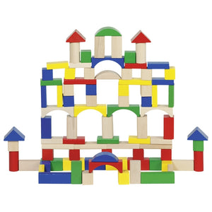 goki wooden building blocks 100 piece set