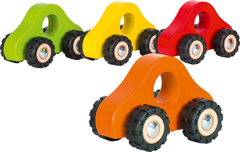 goki colourful wooden car