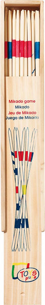 Large Mikado Game in a Wooden Box - Smallkind