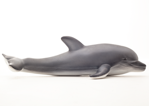 green rubber toys dolphin