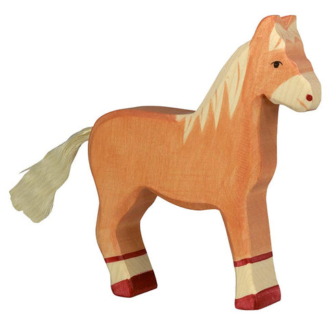Holztiger Brown Standing Horse - Smallkind