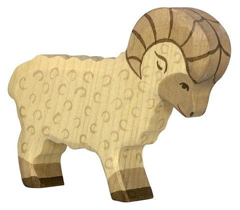 Holztiger Ram Wooden Sheep
