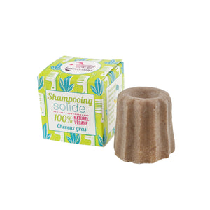 Lamazuna Solid Shampoo Bar - Oily Hair - Smallkind