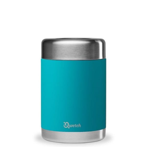 quetch insulated food jar turquoise