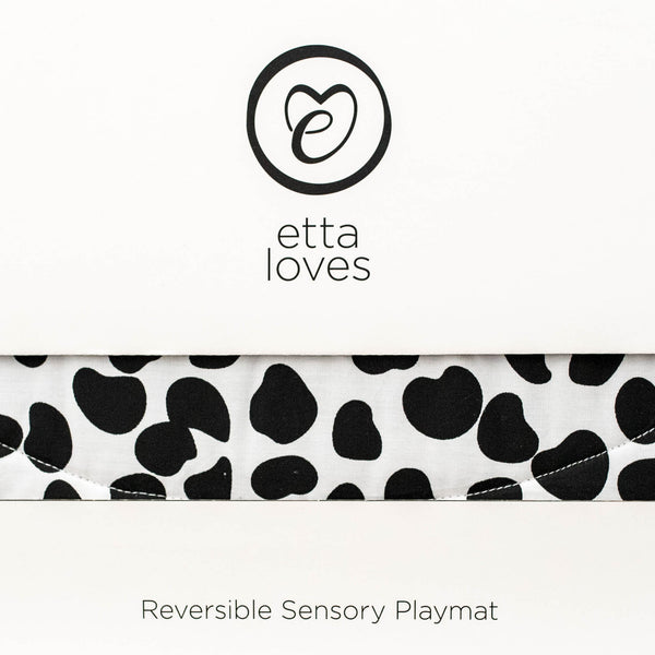 etta loves organic cotton reversible playmat