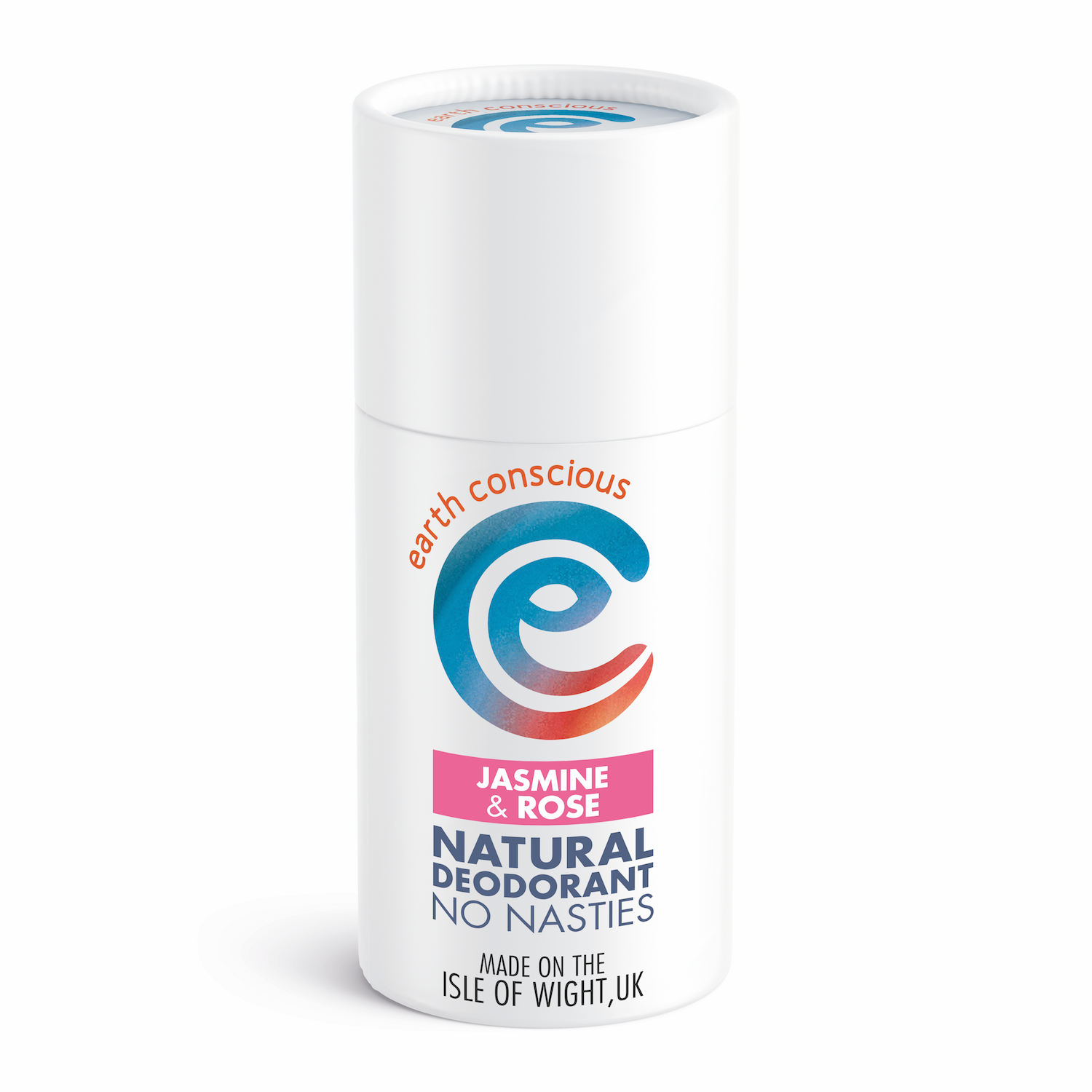 Earth Conscious natural deodorant stick jasmine and rose