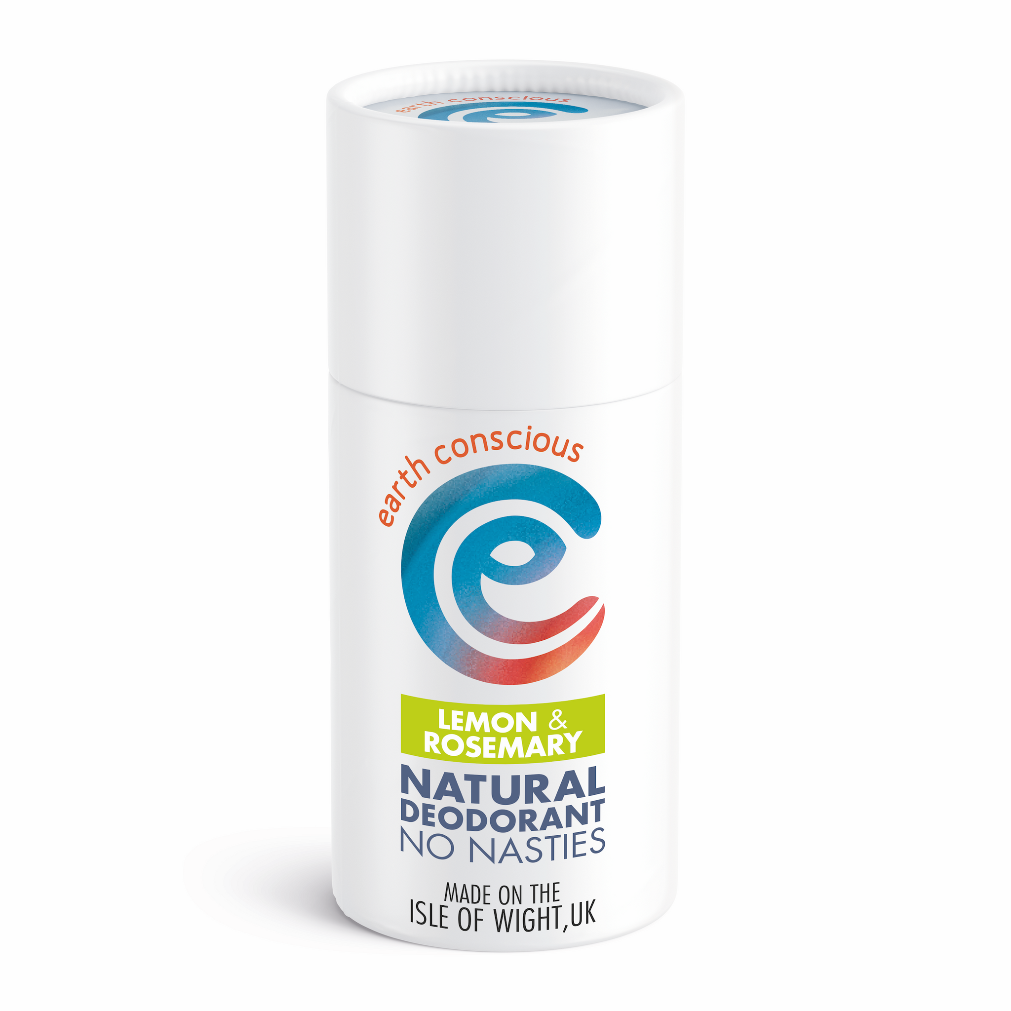 Earth conscious natural deodorant stick lemon and rosemary