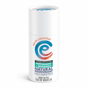 Earth Conscious Natural Deodorant - Peppermint + Spearmint - Smallkind