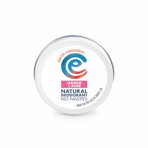 earth conscious natural deodorant tin