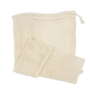 Organic Cotton XL Mesh produce Bag